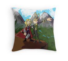 Asgardian Family Vacations Throw Pillow