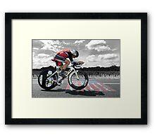 Lance Armstrong - Legend Framed Print