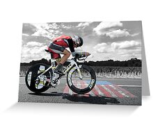 Lance Armstrong - Legend Greeting Card