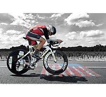 Lance Armstrong - Legend Photographic Print