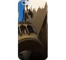Barcelona's Marvelous Architecture - Shapes and Shadows iPhone Case/Skin