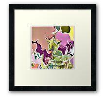 ( NECESSARY  )   ERIC WHITEMAN  ART   Framed Print