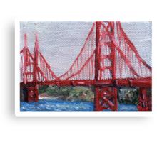 Golden Gate (Obligatory) Canvas Print