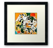 ( NAUGHTY )  ERIC  WHITEMAN  ART   Framed Print
