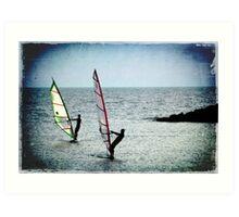 THE GRUNGE SURFERS Art Print
