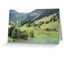 Landscape Austria like a postcard Greeting Card