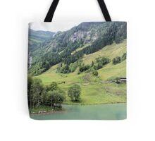 Landscape Austria like a postcard Tote Bag