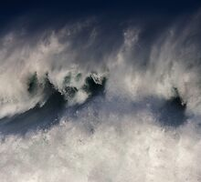 Monster Waves At Waimea Bay .2 by Alex Preiss
