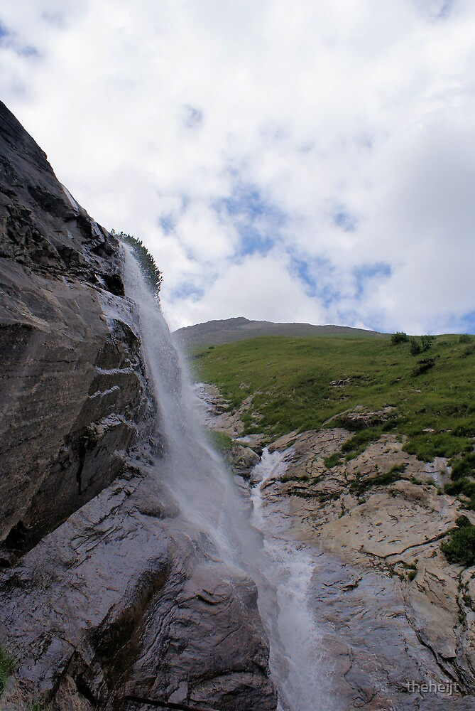 Waterfall at Grossglockner Austria by theheijt