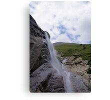 Waterfall at Grossglockner Austria Canvas Print