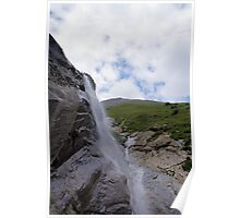 Waterfall at Grossglockner Austria Poster