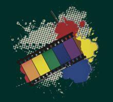 Grunge Rainbow film by Richard Laschon