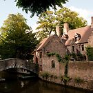 Centre of Medieval Bruges by ferryvn