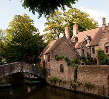 Centre of Medieval Bruges by ferryvn