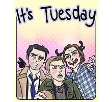 It's Tuesday - SPN Photographic Print