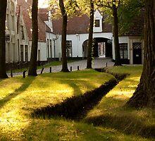 Historic Begijnenhof Bruges 2/2 (1716) by ferryvn