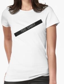Labeled Tee Shirt Womens Fitted T-Shirt