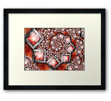 Blood jewels Framed Print