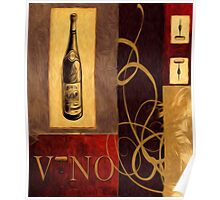 Taste of Italy Oil Painting Poster