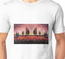 Tuscany Dreams Oil Painting Unisex T-Shirt