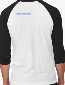 link to my attention Men's Baseball ¾ T-Shirt