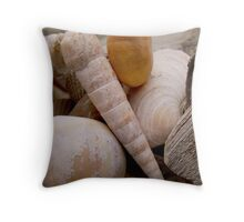 Reflections and Shells Throw Pillow