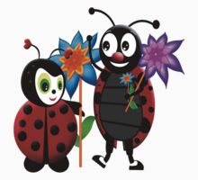 Him and Her Ladybug Kids Clothes