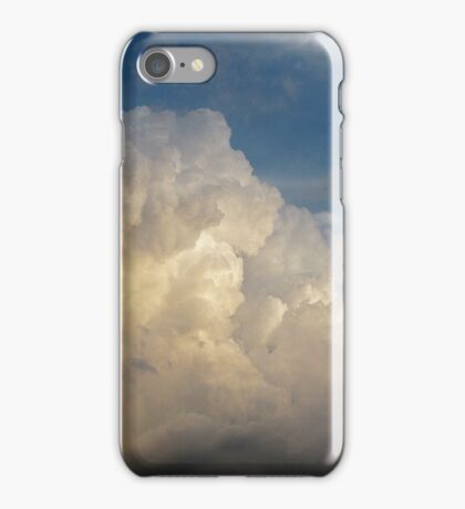 Summer Clouds over New York City  iPhone Case/Skin