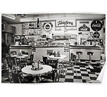 Twisters Soda Fountain Poster