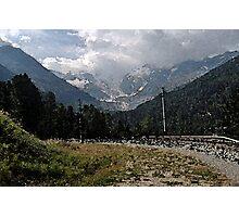 Morteratsch Glacier Pontresina, Switzerland Photographic Print