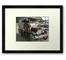 Ford model T Ambulance Framed Print