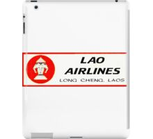 Lao Airlines iPad Case/Skin