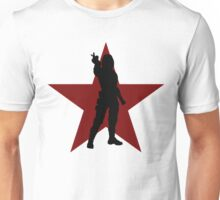 Winter Soldier Silhouette  Unisex T-Shirt