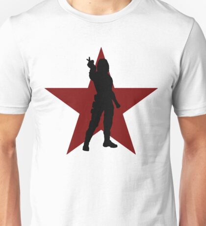 Winter Soldier Silhouette  Unisex T-Shirt