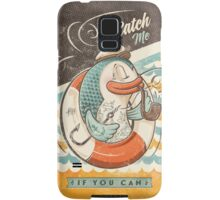 Catch Me If You Can Samsung Galaxy Case/Skin