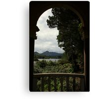 Italian temple view Canvas Print