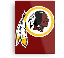 Redskins Metal Print