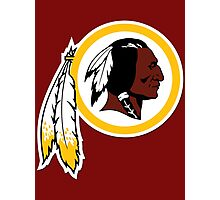 Redskins Photographic Print