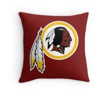 Redskins Throw Pillow
