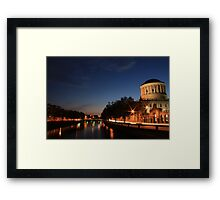 The Four Courts Framed Print