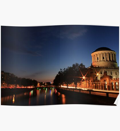 The Four Courts Poster