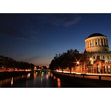 The Four Courts Photographic Print