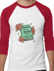 Books > People Men's Baseball ¾ T-Shirt