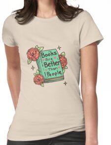 Books > People Womens Fitted T-Shirt