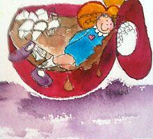 Marshmallows 'n Hot Chocolate by nancyballard