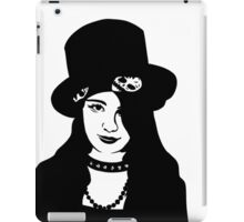Goth Stencil iPad Case/Skin