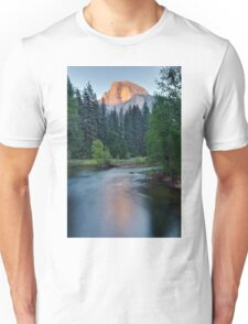 Half Dome Sunset - HDR Unisex T-Shirt