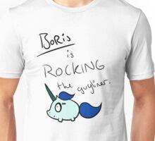 Boris is Rocking the Guyliner Unisex T-Shirt