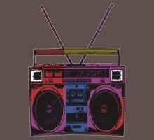80's Boombox Kids Clothes