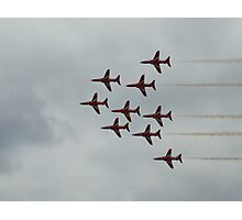 Red Arrows 3 Photographic Print